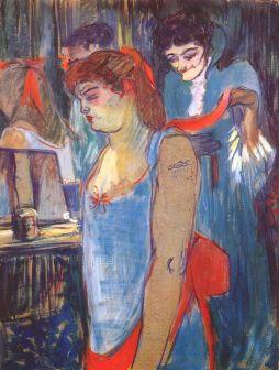 Henri de Toulouse-Lautrec: Kobieta z tatuażem
