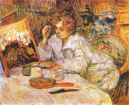 Henri de Toulouse-Lautrec: Kobieta przy toalecie