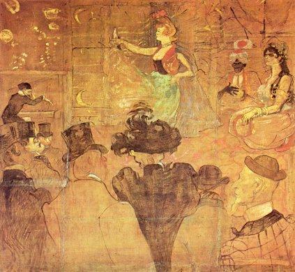 Henri de Toulouse-Lautrec: Taniec mauretański