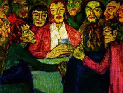 Emil Nolde: Ostatnia wieczerza