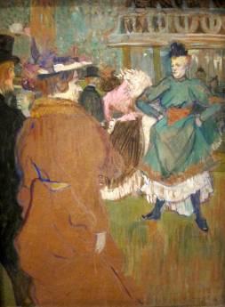 Henri de Toulouse-Lautrec: Kadryl w Moulin Rouge