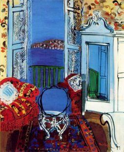 Raoul Dufy: Okno otwarte. Nicea