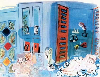 Raoul Dufy: Modelka