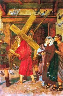 Józef Mehoffer: Droga krzyżowa IV