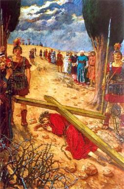 Józef Mehoffer: Droga krzyżowa IX