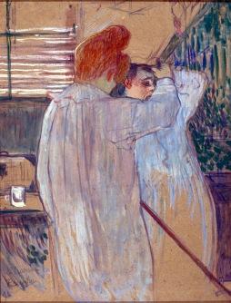 Henri de Toulouse-Lautrec: Czeszące sie