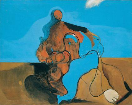 Max Ernst: Pocałunek