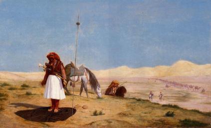 Jean-Léon Gérôme: Modlitwa na pustyni