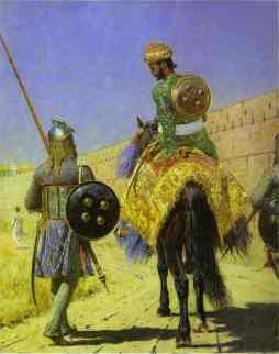 Wasilij Wereszczagin: Jeździec w Dżajpurze