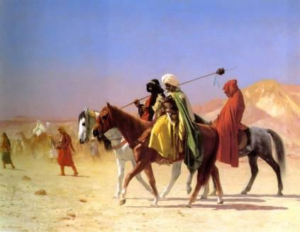 Jean-Léon Gérôme: Arabowie na pustyni