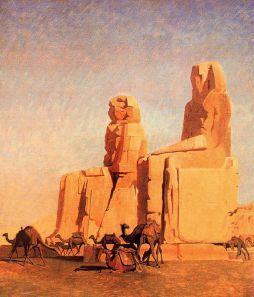 Jean-Léon Gérôme: Kolosy Memnona
