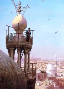 Jean-Léon Gérôme: Minaret