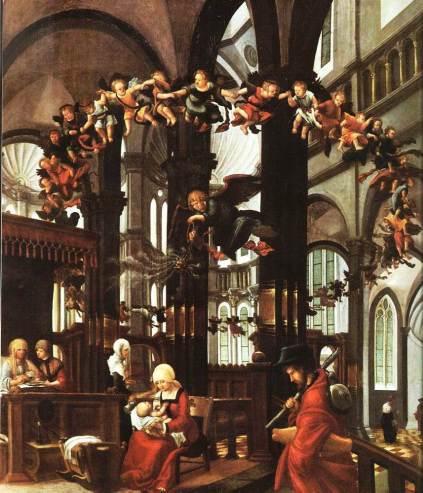 Albrecht Altdorfer: Narodziny Marii