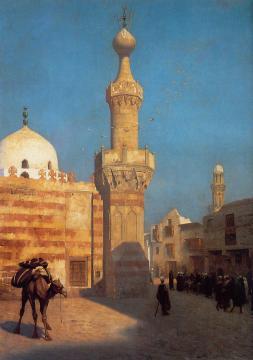 Jean-Léon Gérôme: Widok Kairu
