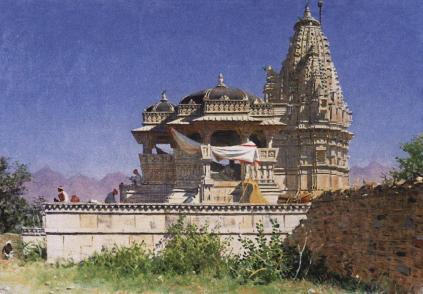 Wasilij Wereszczagin: Świątynia bramińska