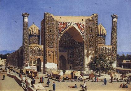 Wasilij Wereszczagin: Targ w Samarkandzie