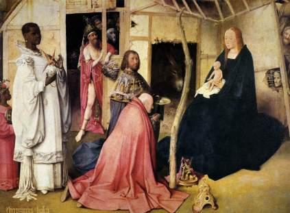 Hieronymus Bosch: Adoracja Magów