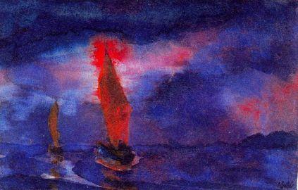 Emil Nolde: Błękitne morze