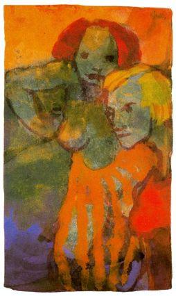 Emil Nolde: Dwie kobiety
