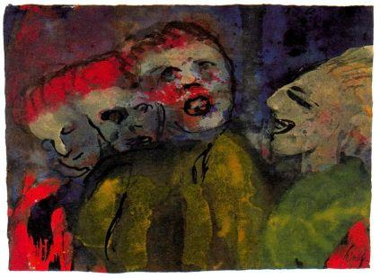 Emil Nolde: Groteskowe figury
