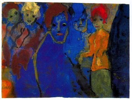 Emil Nolde: Mężczyźni i kobiety