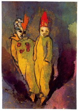 Emil Nolde: Para w kostiumach