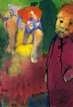 Emil Nolde: Starzec i bożek leśny