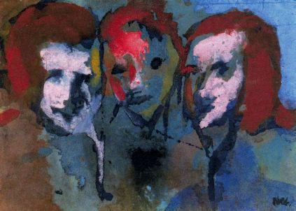 Emil Nolde: Trzy głowy