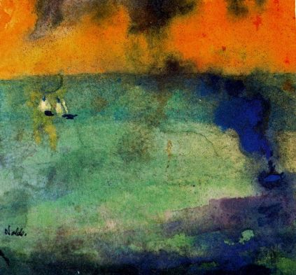 Emil Nolde: Wezbrane morze