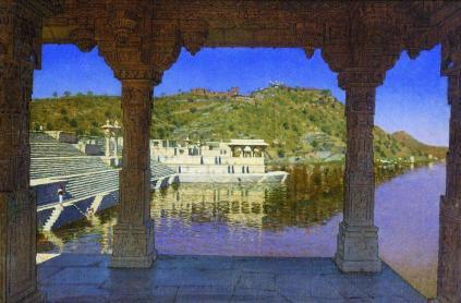 Wasilij Wereszczagin: Nadbrzeże w Udajpur