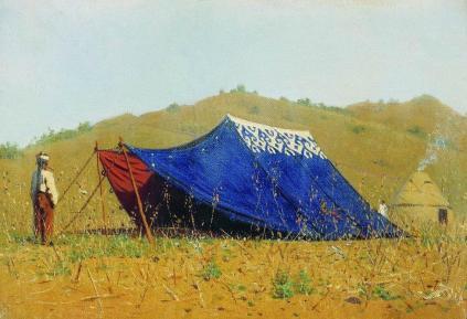 Wasilij Wereszczagin: Chiński namiot