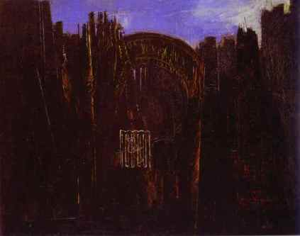 Max Ernst: Las i czarne słońce