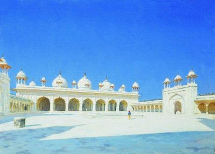 Wasilij Wereszczagin: Moti Masjid w Agrze