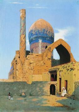 Wasilij Wereszczagin: Mauzoleum Gur Emir w Samarkandzie