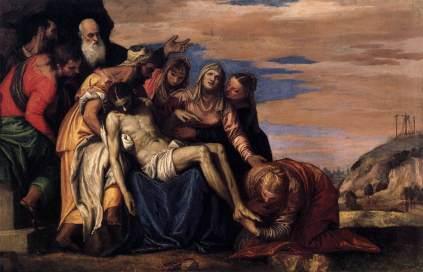 Paolo Veronese: Lamentacje nad zmarłym Panem