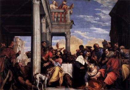 Paolo Veronese: Uczta w domu Szymona faryzeusza