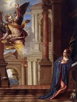 Paolo Veronese: Zwiastowanie