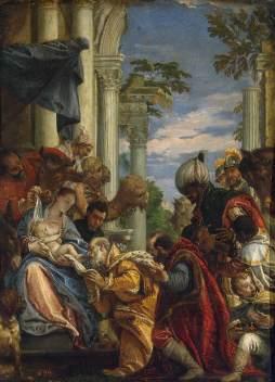 Paolo Veronese: Adoracja Magów
