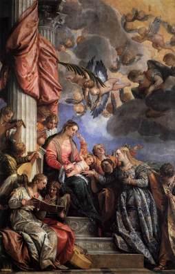 Paolo Veronese: Mistyczne małżeństwo św. Katarzyny