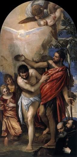 Paolo Veronese: Chrzest Chrystusa