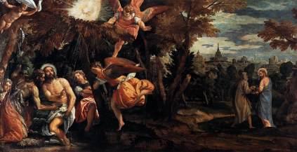 Paolo Veronese: Chrzest i kuszenie Chrystusa