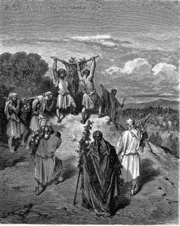 Gustaw Doré: Powrót szpiegów z Ziemi Obiecanej