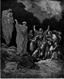 Gustaw Doré: Saul i wiedźma z Endor
