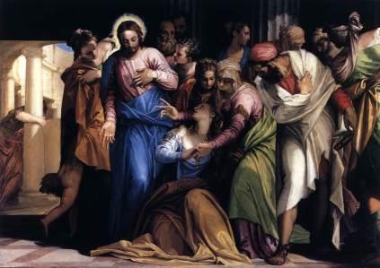 Paolo Veronese: Nawrócenie św. Magdaleny
