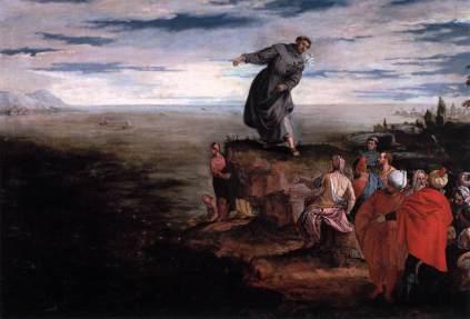 Paolo Veronese: Św. Antoni przemawiający do ryb