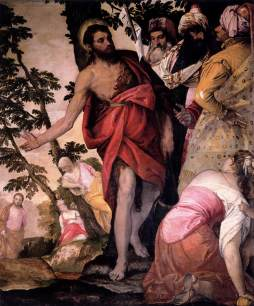Paolo Veronese: Św. Jan Chrzciciel