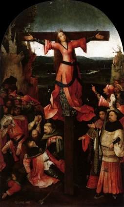 Hieronymus Bosch:  Męczeństwo św. Liberaty