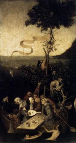 Hieronymus Bosch:  Statek szaleńców
