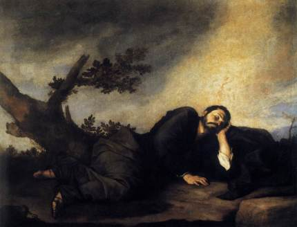 Jusepe de Ribera: Sen świętego Jakuba