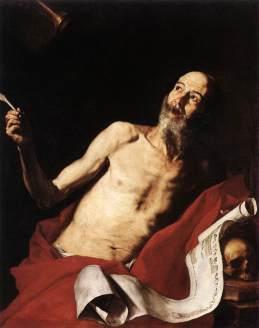 Jusepe de Ribera: Święty Hieronim